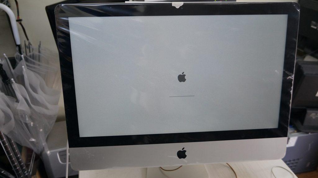 HDD異常でAppleロゴから進まない HDD交換 iMac 21.5 A1418 1