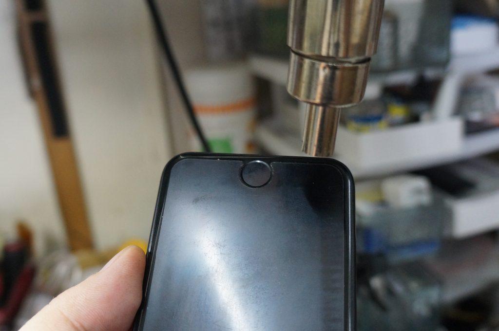 液晶が映らない 液晶パネル交換 iPhone7 2