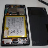 劣化したバッテリーで充電が持たない バッテリー交換 Xperia Z4 SO-03G 3