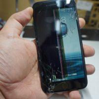 液晶割れにより液晶交換 iPhone8 1