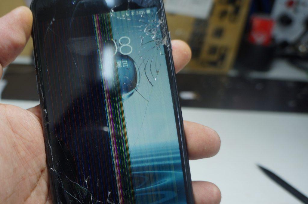 液晶割れにより液晶交換 iPhone8 2