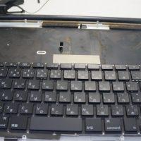 キーボードの一部が反応しない キーボード交換 Macbook Pro 17 A1297 5