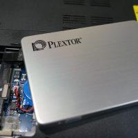 起動が遅いのSSDで高速化 SSD換装 NEC LL750/H 3