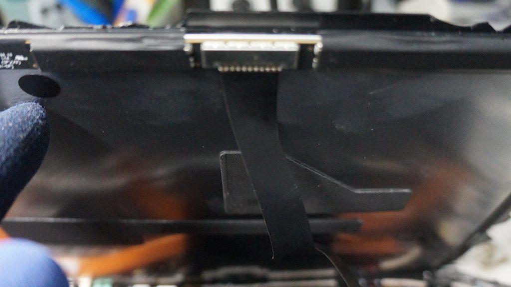 液晶割れにより液晶交換 Surface Pro5 5