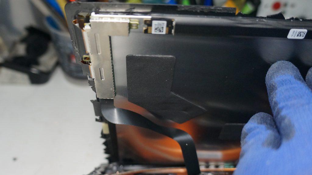 液晶割れにより液晶交換 Surface Pro5 6