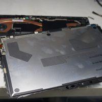 液晶割れにより液晶交換 Surface Pro5 7