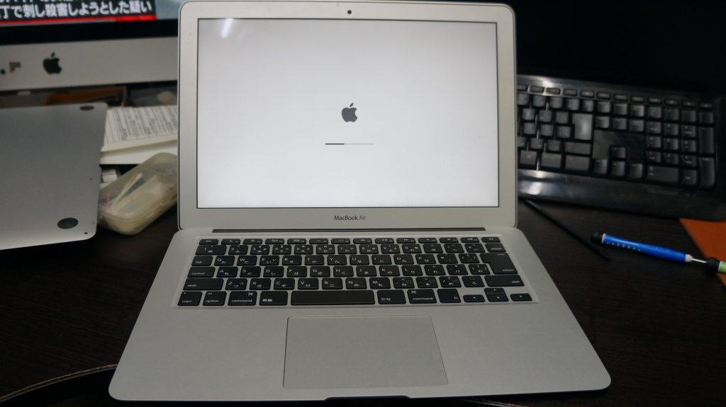 何かをこぼしキーボードが使えない キーボード交換 Macbook Air A1466 7