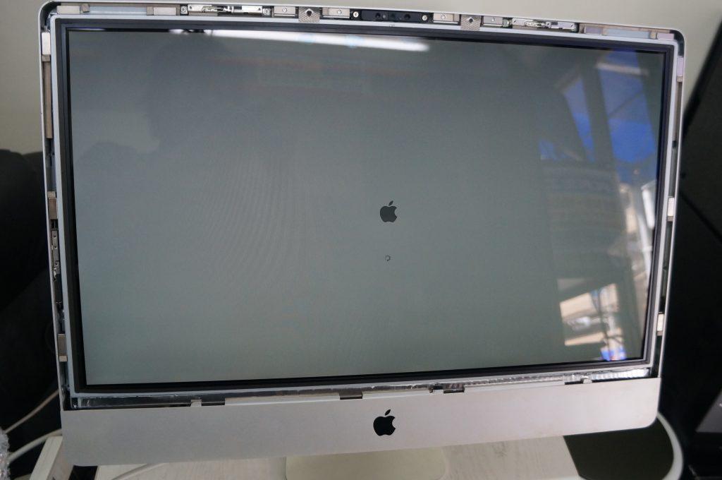 広島Mac修理広島市 起動しない電源が反応しない 電源交換 iMac 21.5 7