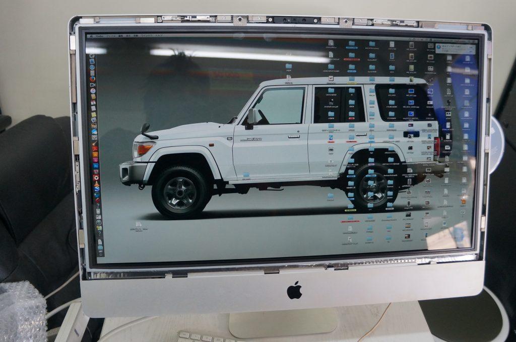 広島Mac修理広島市 起動しない電源が反応しない 電源交換 iMac 21.5 8